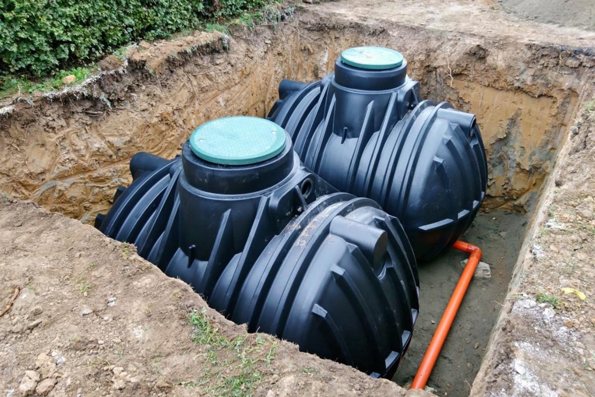 regenwater behandelen in regentank